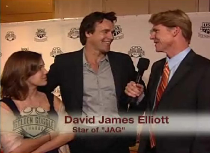 David James Elliott and daughter Stephanie